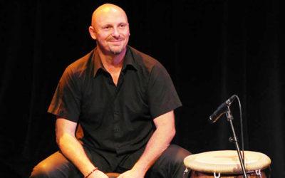Stéphane Simon, percussionniste
