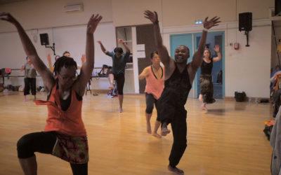 Cours de danse africaine en ligne avec Amédé Nwatchock