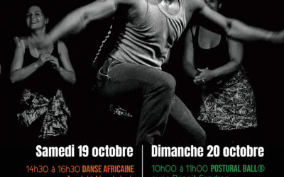 19 et 20 octobre 2019 – Danse africaine, gwoka et Postural Ball®