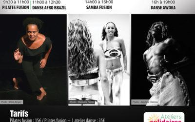 Samedi 6 novembre 2021 – Danse afro Brazil et Gwoka